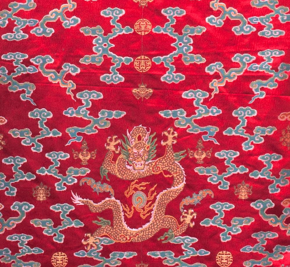 100 Tapestry Style Silk Damask Jacquard Brocade China